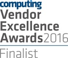 Computing Vendor Excellence Awards Finalist