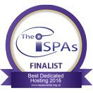Memset nominated Dedicated hosting provider of the year at the ISPA awards 2016